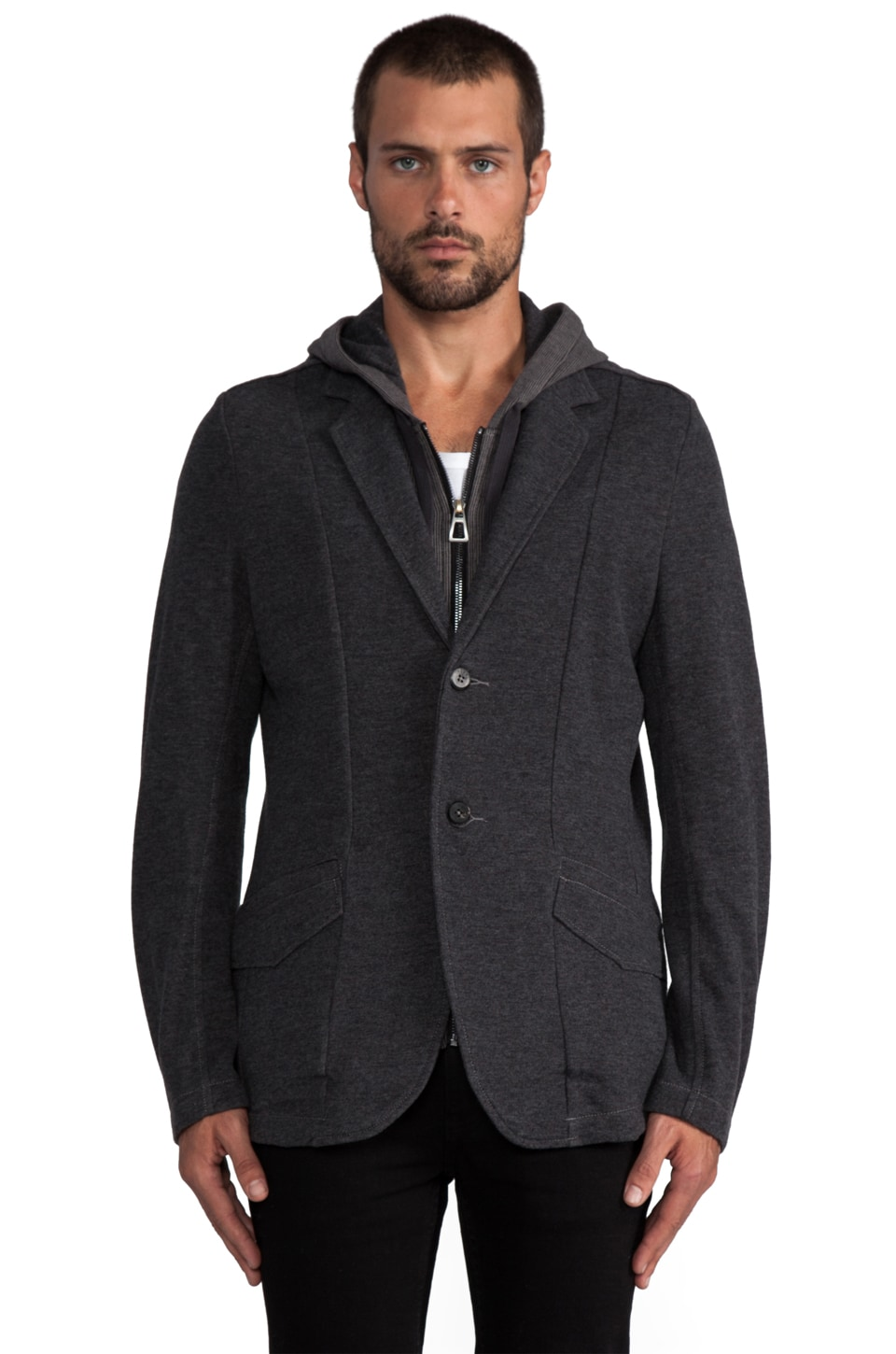 Howe 4 on the Floor Layered Jacket in Civilian Grey