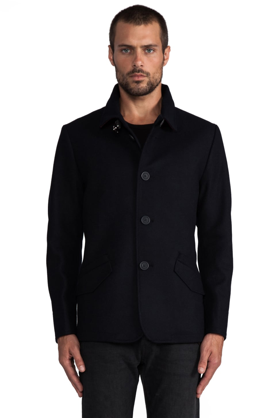 Howe Imposter Costume Jacket in Night Sky Navy