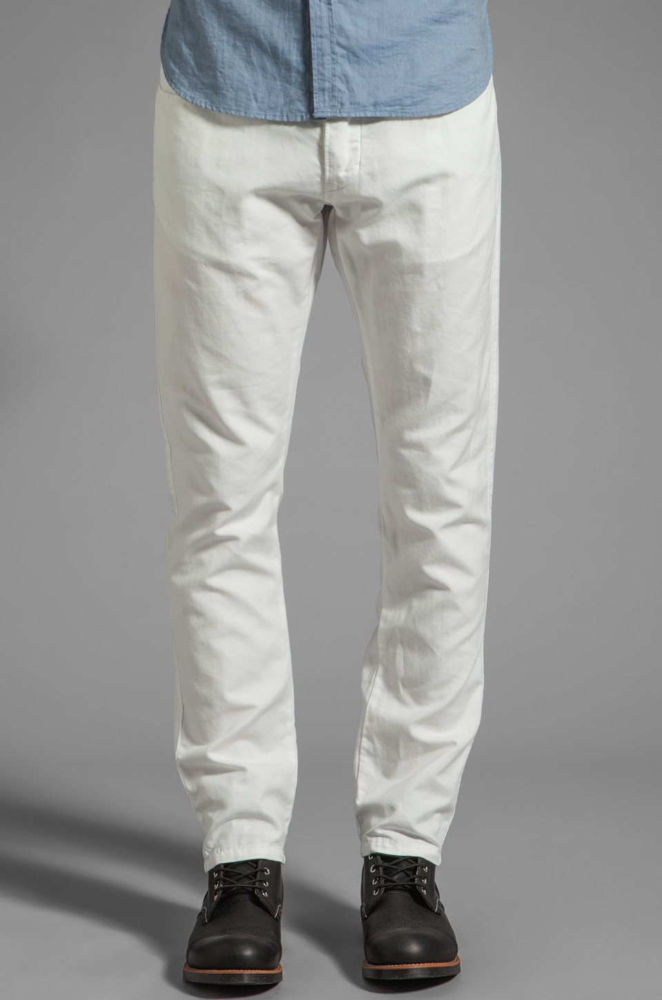 Howe Cali Kool Cotton Linen Pants in White Cotton