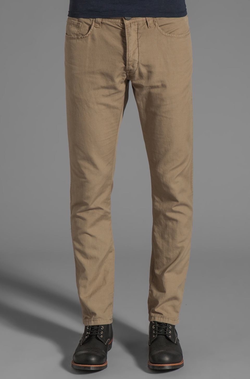 Howe Cali Kool Cotton Linen Pants in Desert Post