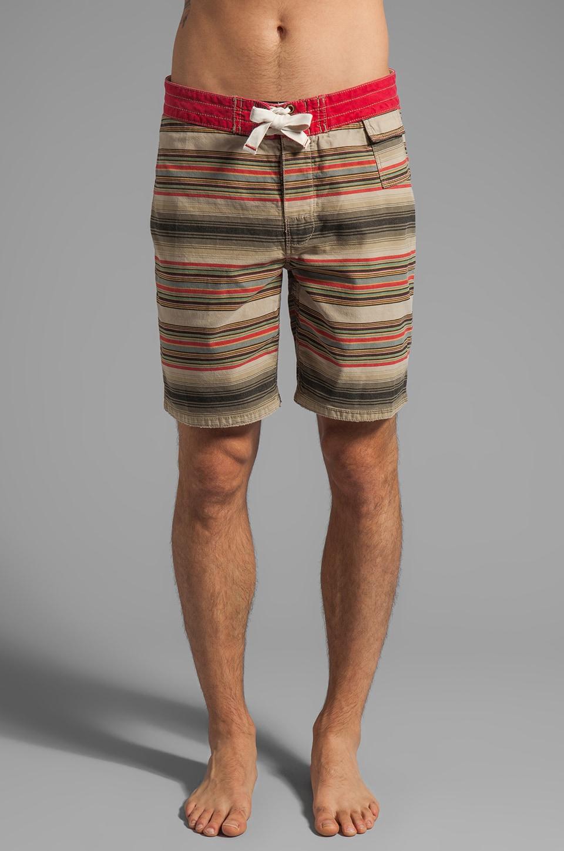 Howe 67 Chevy Board Shorts in Red Pepper Stripe