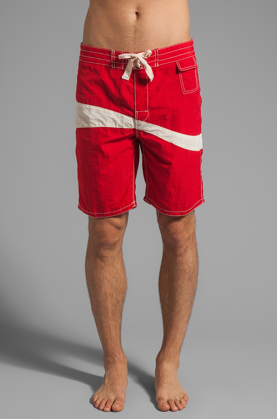 Howe Liquid Sunshind Board Shorts in Red