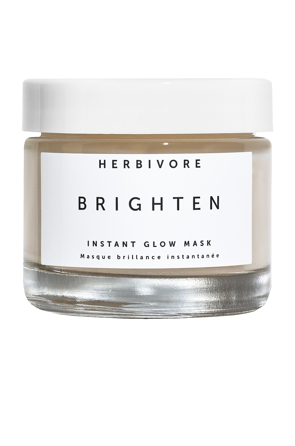 Herbivore Botanicals Brighten Pineapple & Gemstone Wet Mask in All