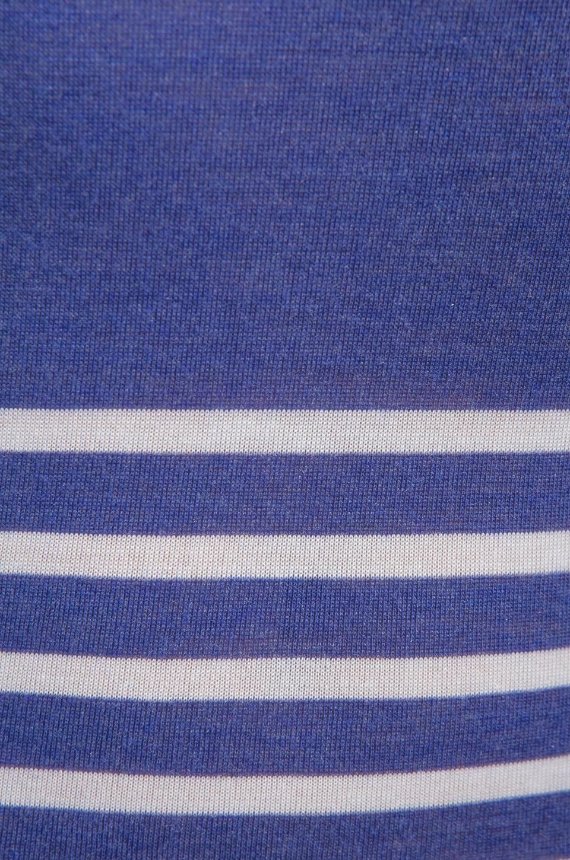 Heather Engineered Stripe Tank in Iris/White