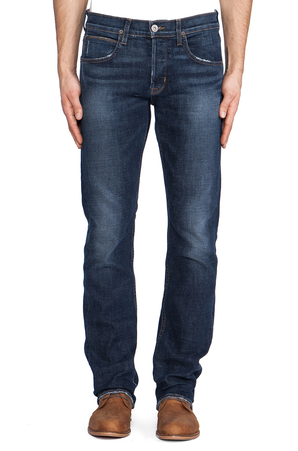 Hudson Jeans Byron Straight in Thieves