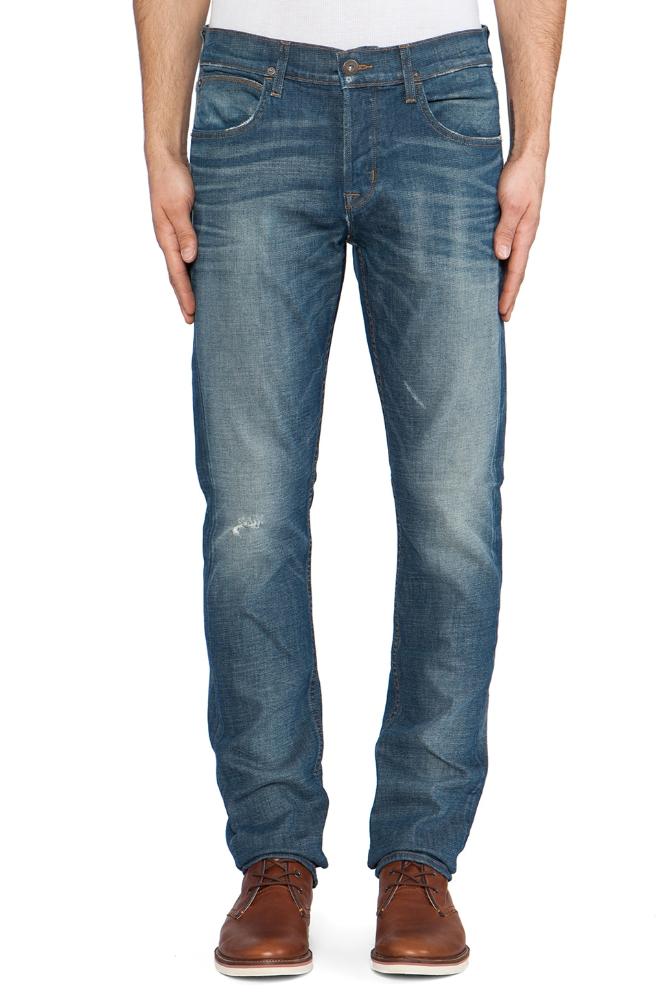 Hudson Jeans Blake Slim Straight in Sulpher Mine