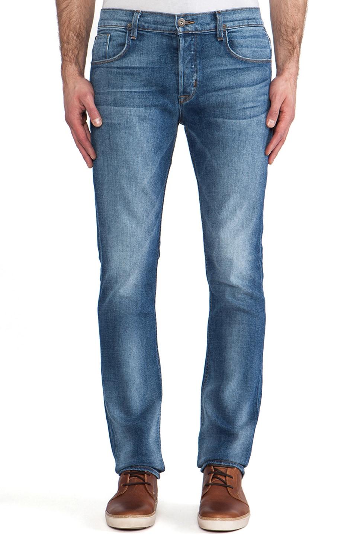 Hudson Jeans Sartor Slouchy Skinny in Rebel Roadside