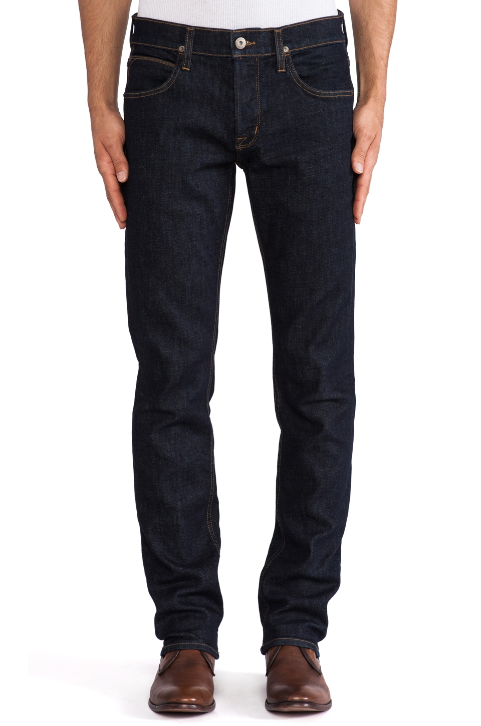 Hudson Jeans Blake 12.5 oz Slim Straight in Argon