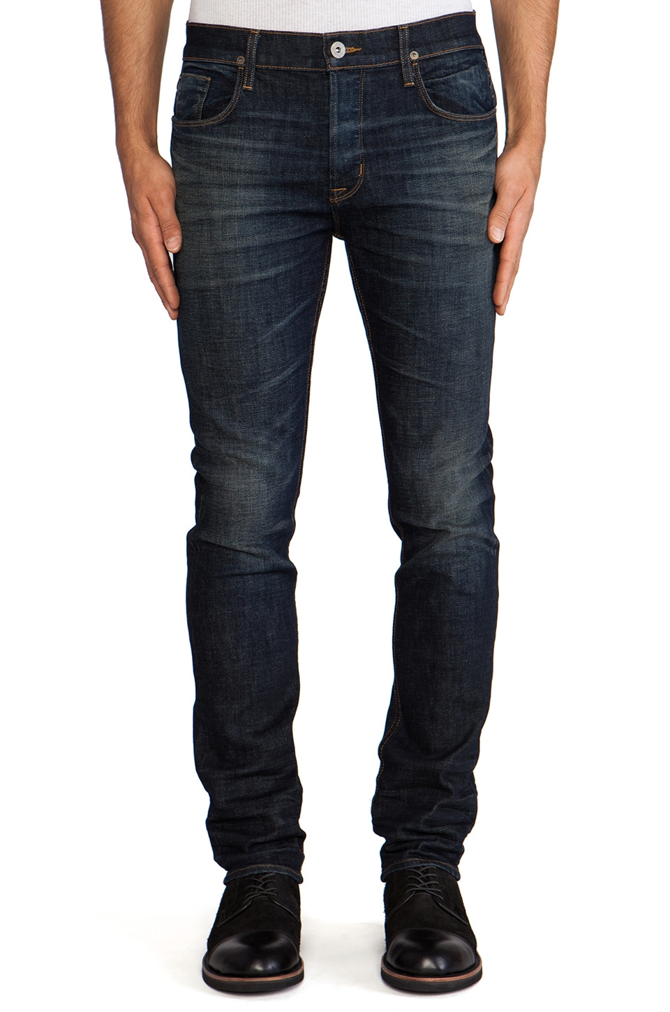 Hudson Jeans Sartor Slouchy Skinny in Nomad