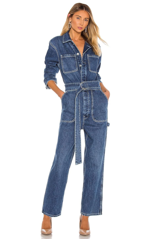 Hudson Jeans ДЖИНСОВЫЙ КОМБИНЕЗОН UTILITY
