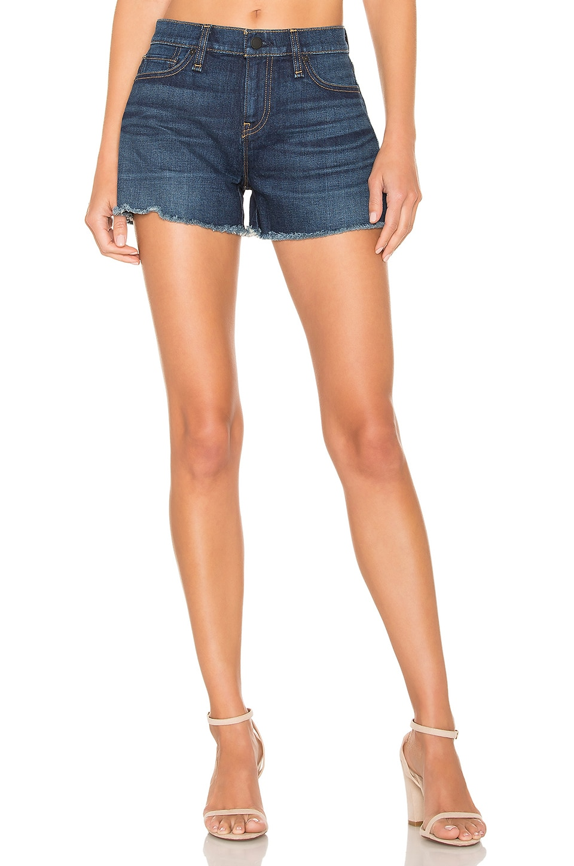Hudson Jeans Gemma Midrise Cut Off Short in Nightfall