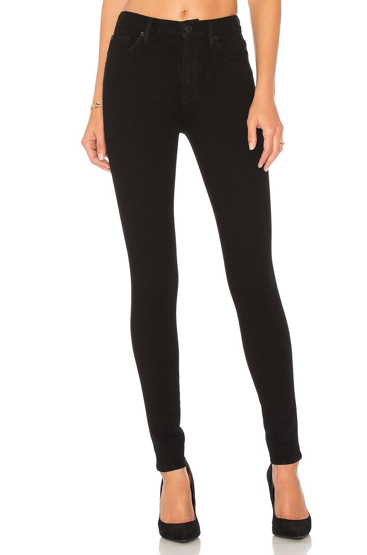 Hudson Jeans Barbara High Waist Super Skinny in Black