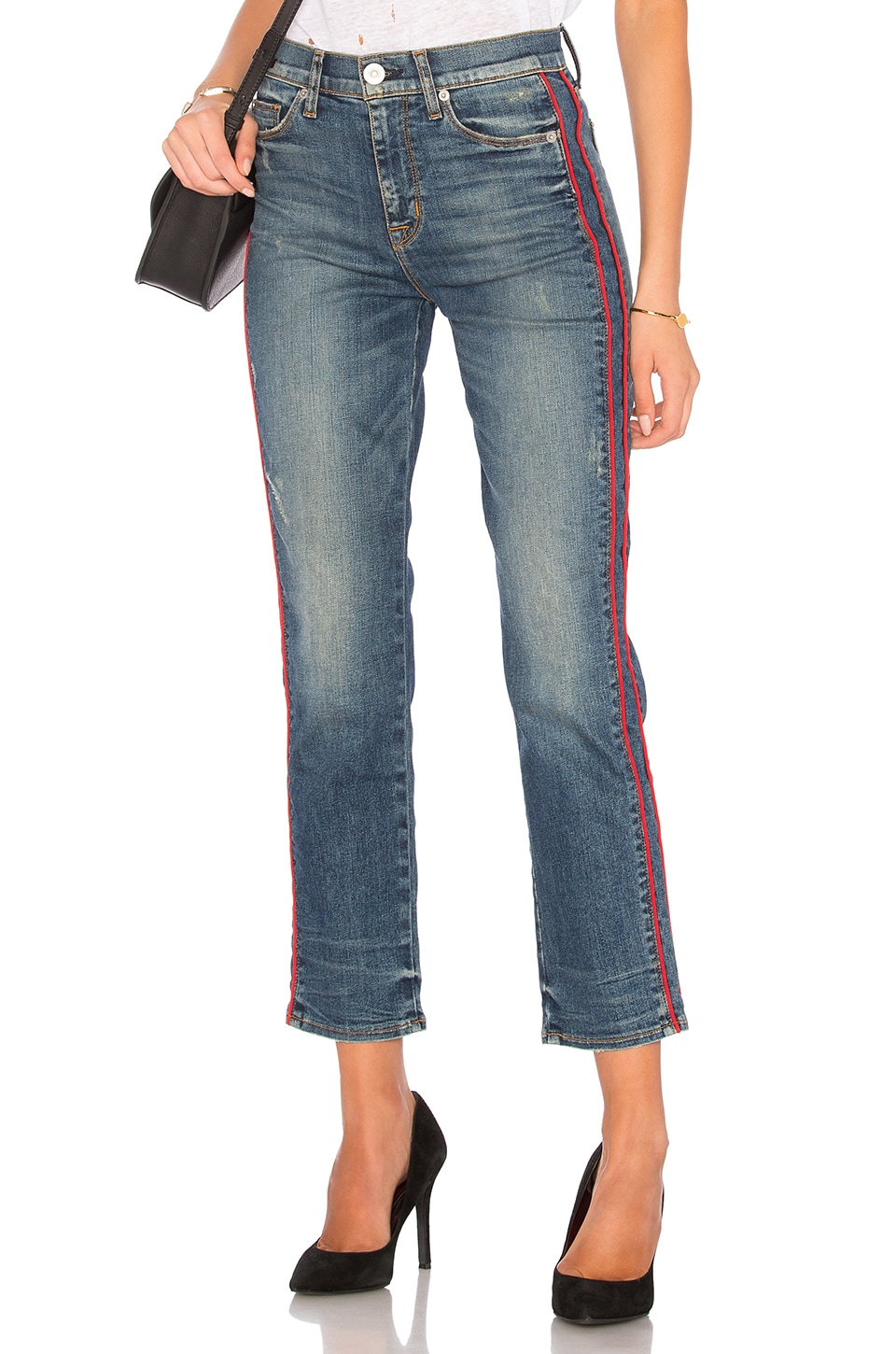 Hudson Jeans Custom Zoeey High Rise Ankle in Reform