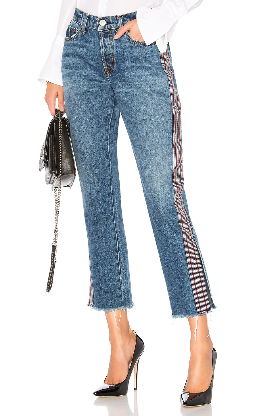 182dc9c0bc7 Hudson Jeans Riley Luxe Crop Jean in Forgiver | REVOLVE