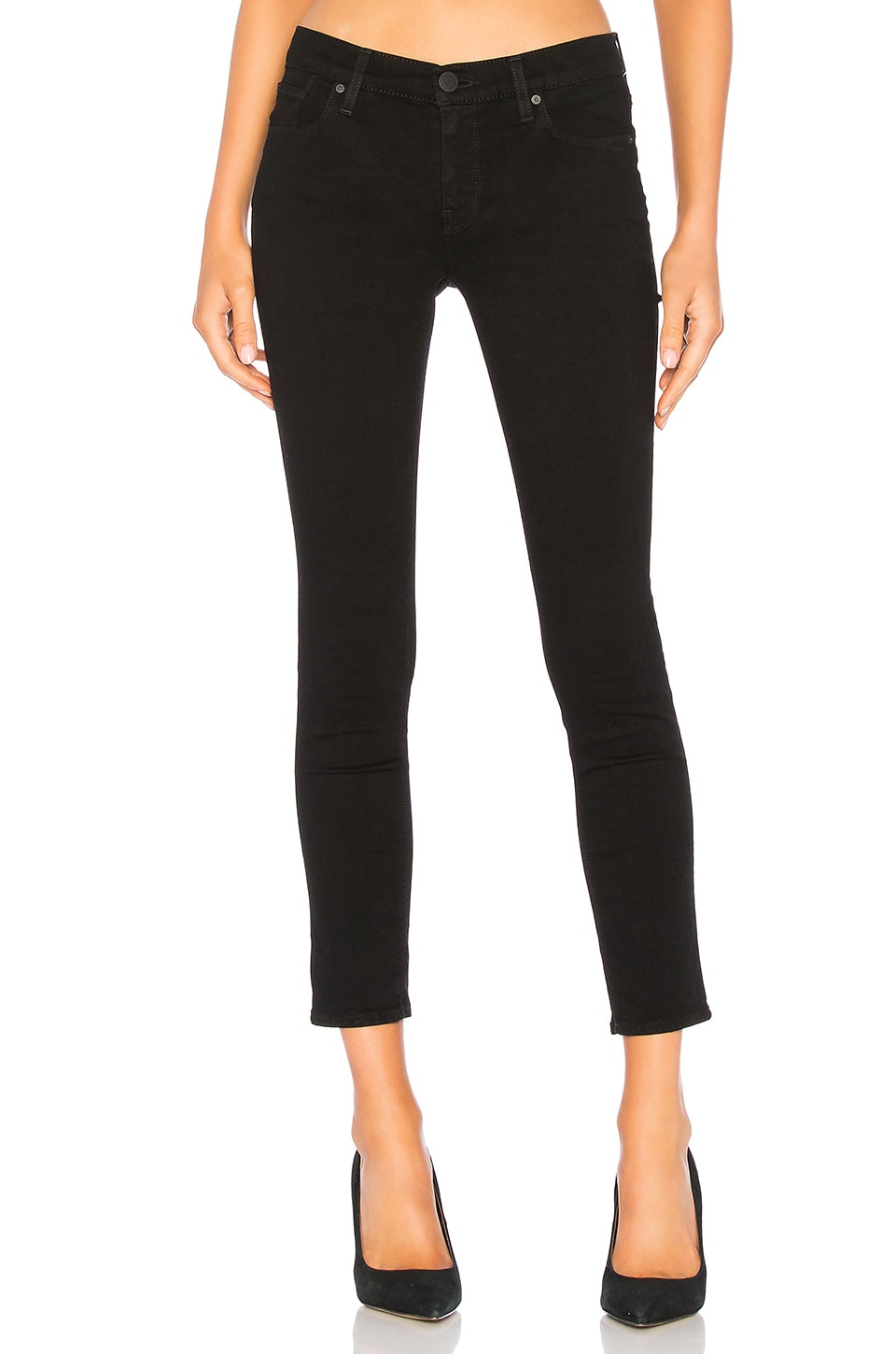 Hudson Jeans Krista Super Skinny in Black