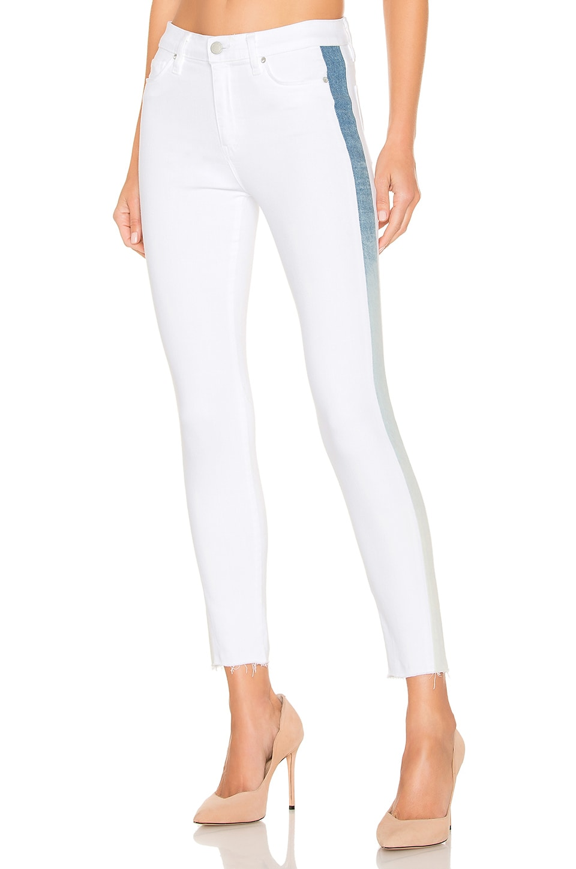 Hudson Jeans Barbara Highrise Super Skinny in White Ice