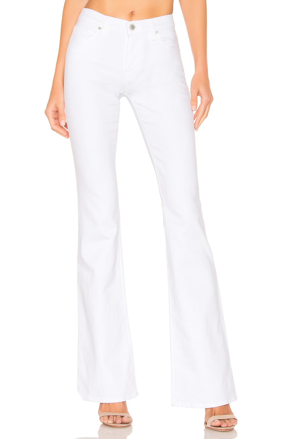 Hudson Jeans Drew Midrise Bootcut in White
