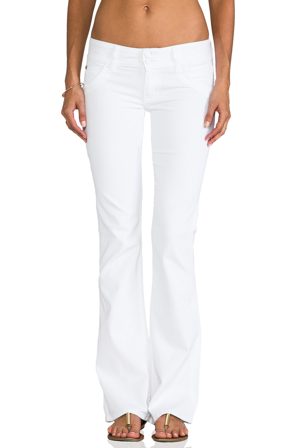 Hudson Jeans Signature Bootcut in White