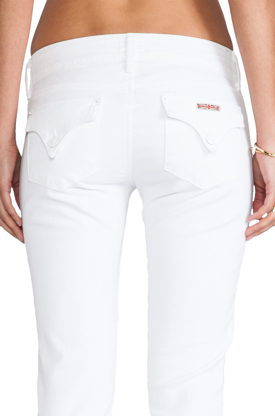 Hudson Jeans Collin Skinny in White
