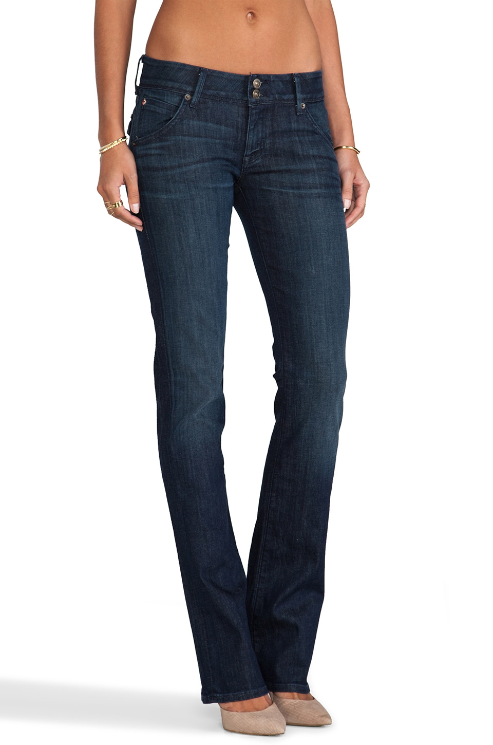 Hudson Jeans Beth Baby Boot in Siouxsie