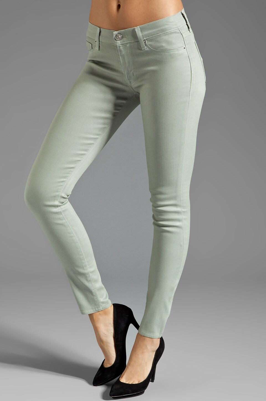 Hudson Jeans Krista Wax Skinny in Grassroots