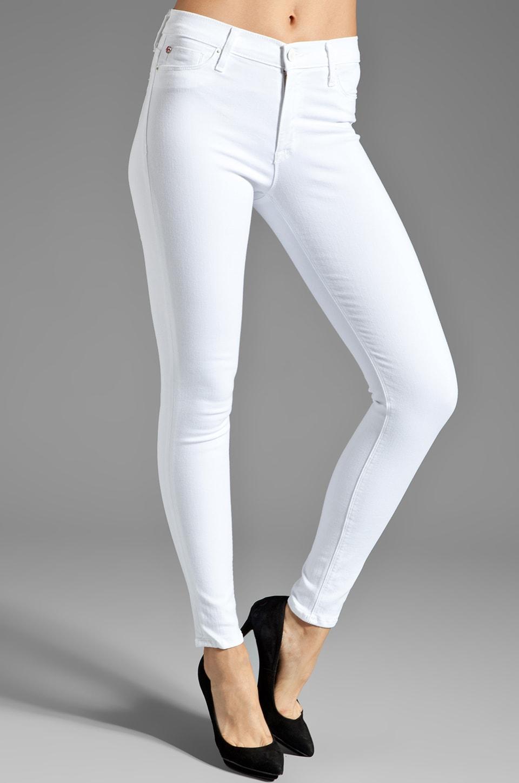 Hudson Jeans Jean Nico Skinny en Blanc