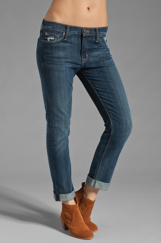 Hudson Jeans Tilda Cuffed Straight Leg in Whitcomb