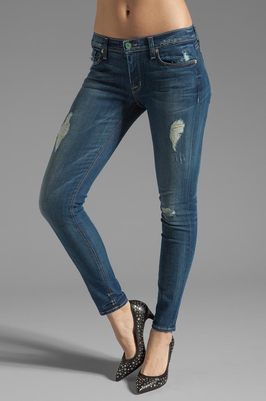 Hudson Jeans Krista Super Skinny in Blondie