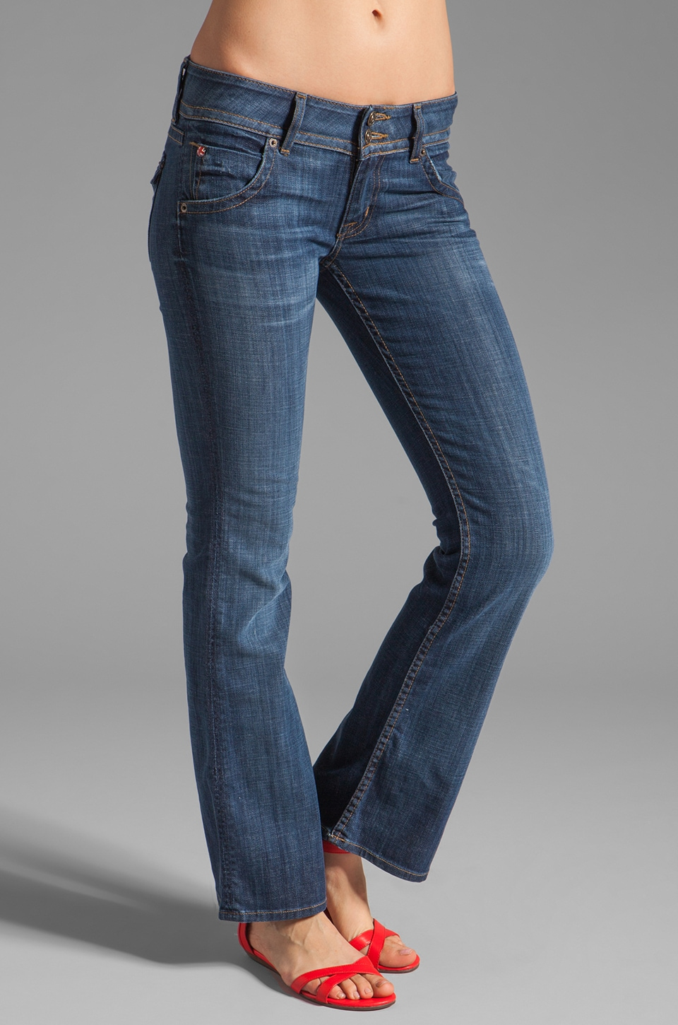 Hudson Jeans Signature Boot Cut Jeans in Saville