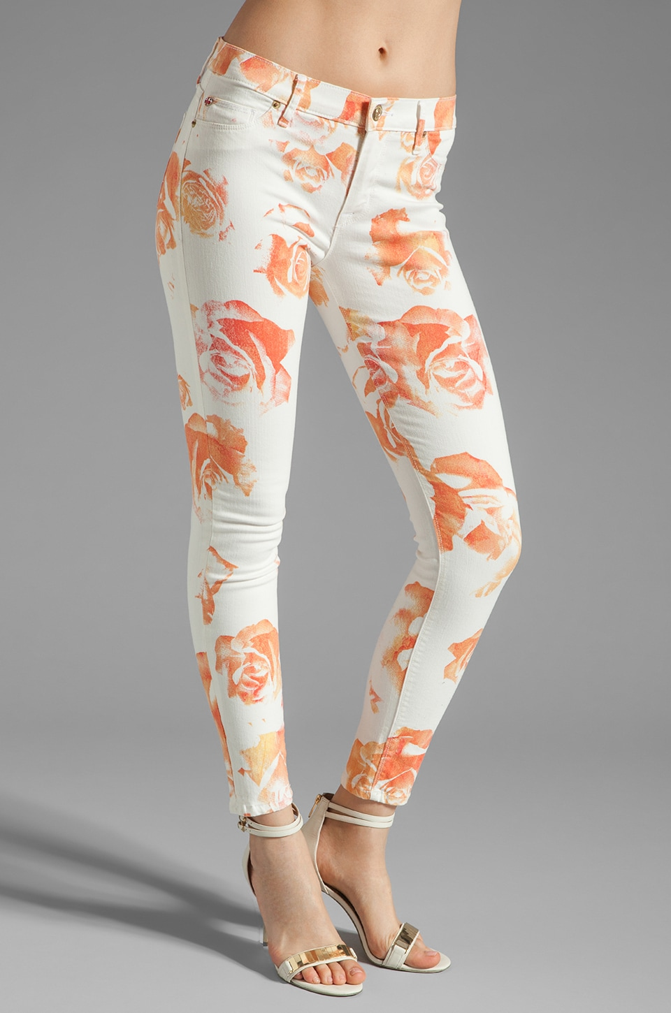 Hudson Jeans Nico Skinny in Photo Bloom