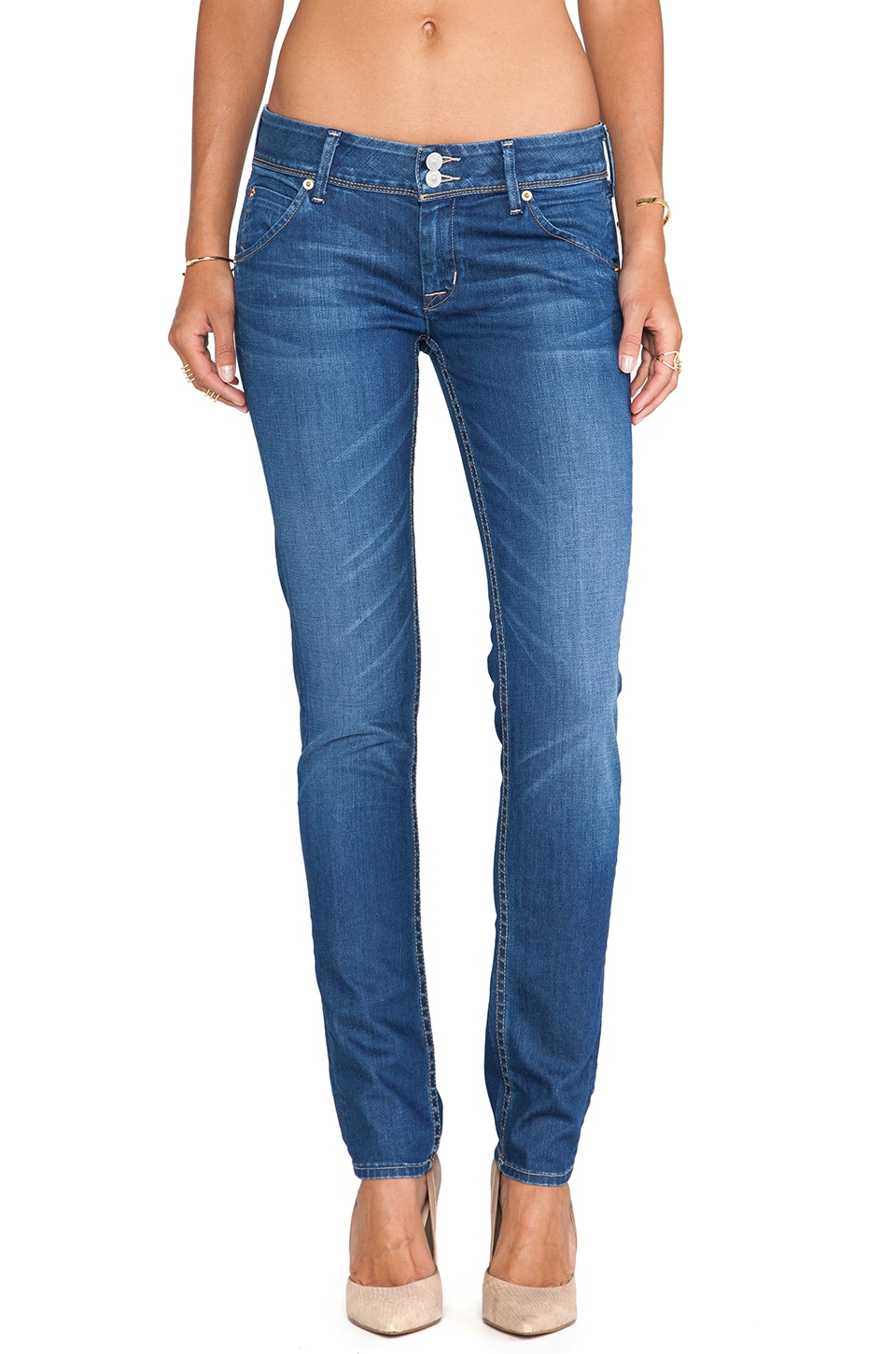 Hudson Jeans Collin Skinny in Michelle