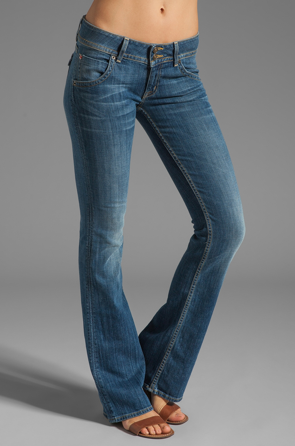 Hudson Jeans Signature Bootcut in Milo