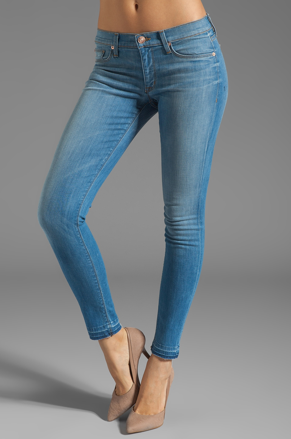 Hudson Jeans Krista Super Skinny in Polly