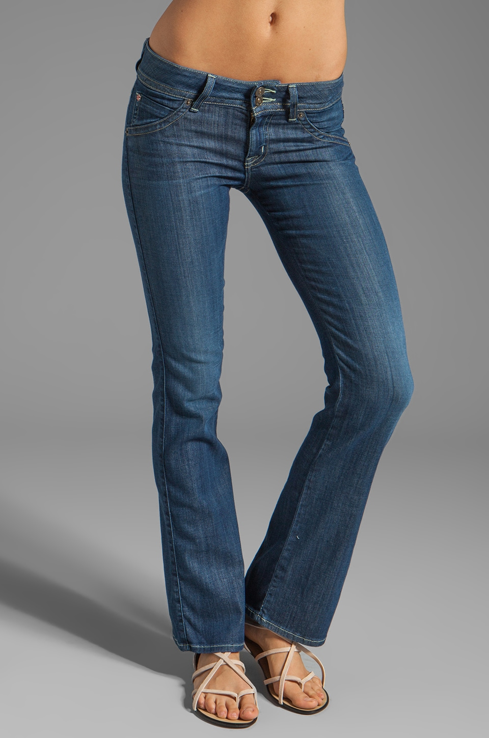 Hudson Jeans Petite Boot Cut in Edan