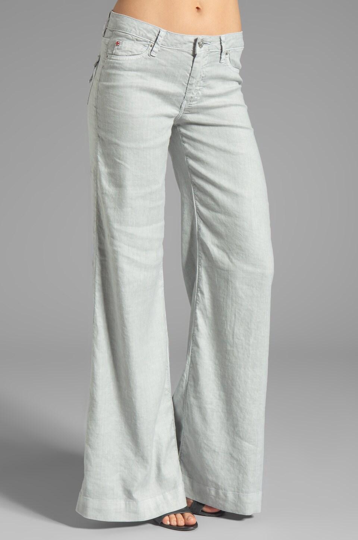 Hudson Jeans Gwen Midrise Wide Leg in Grey