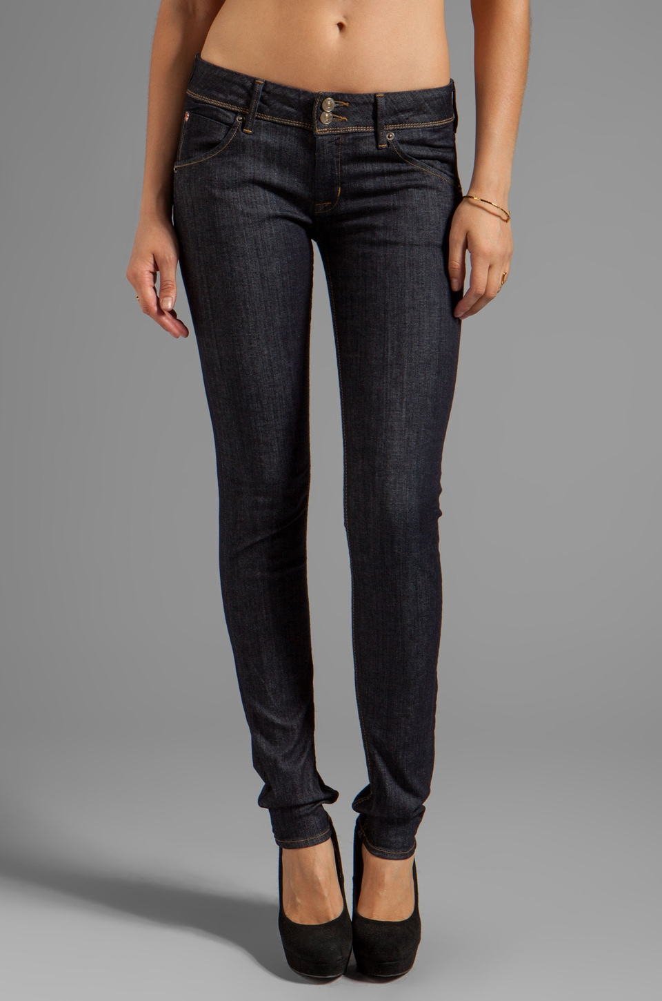 Hudson Jeans Collin Supermodel Skinny in Foley