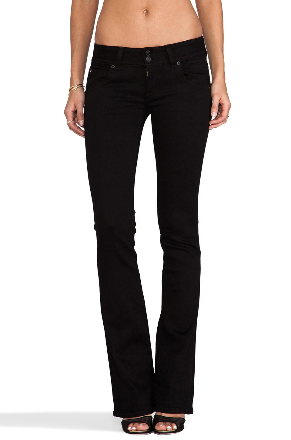 Hudson Jeans Bootcut in Black