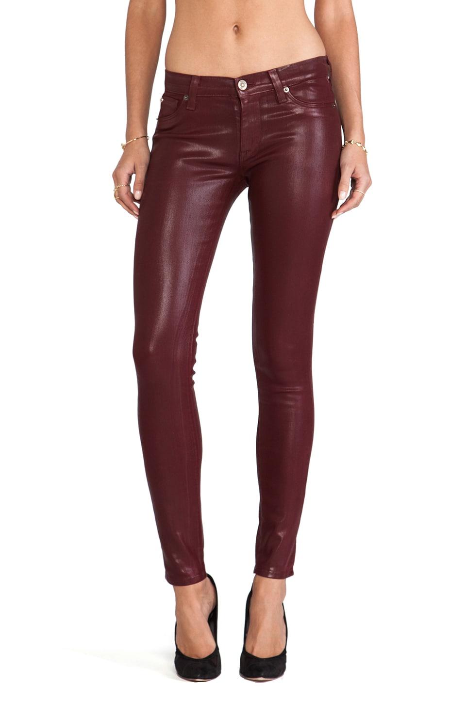 Hudson Jeans Jean Krista Skinny en Crimson Wax