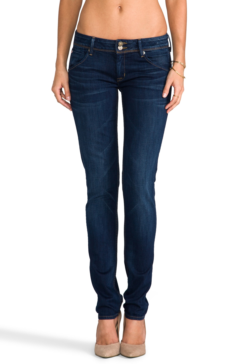 Hudson Jeans Collin Skinny in Unplugged