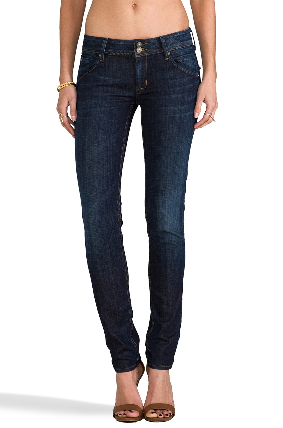 Hudson Jeans Collin Skinny in D'arcy