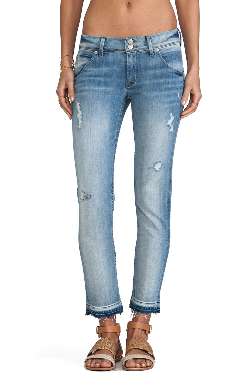 Hudson Jeans Collin Crop in Lady