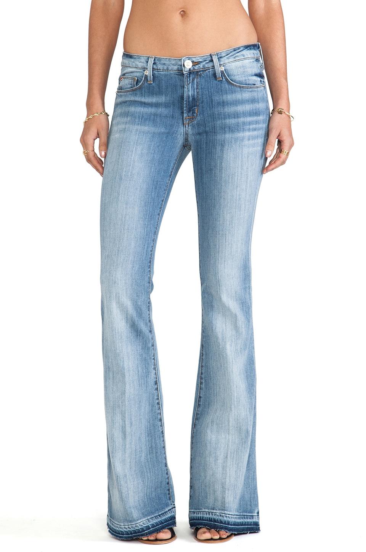Hudson Jeans Mia Flare in Indigo Haze | REVOLVE