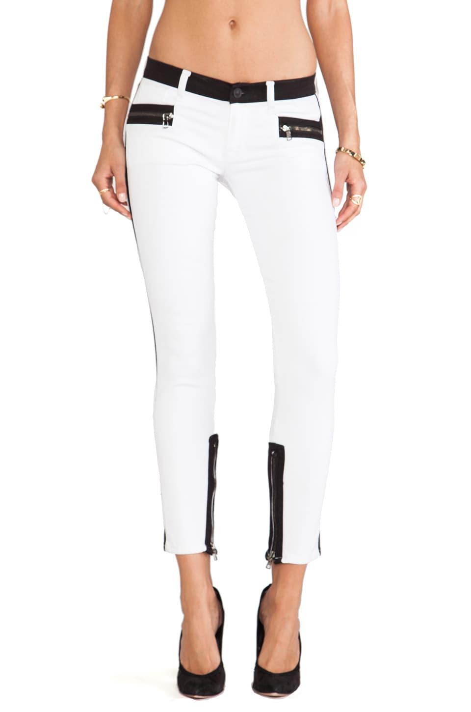 Hudson Jeans Chelsea Colorblock Super Skinny in Retreat
