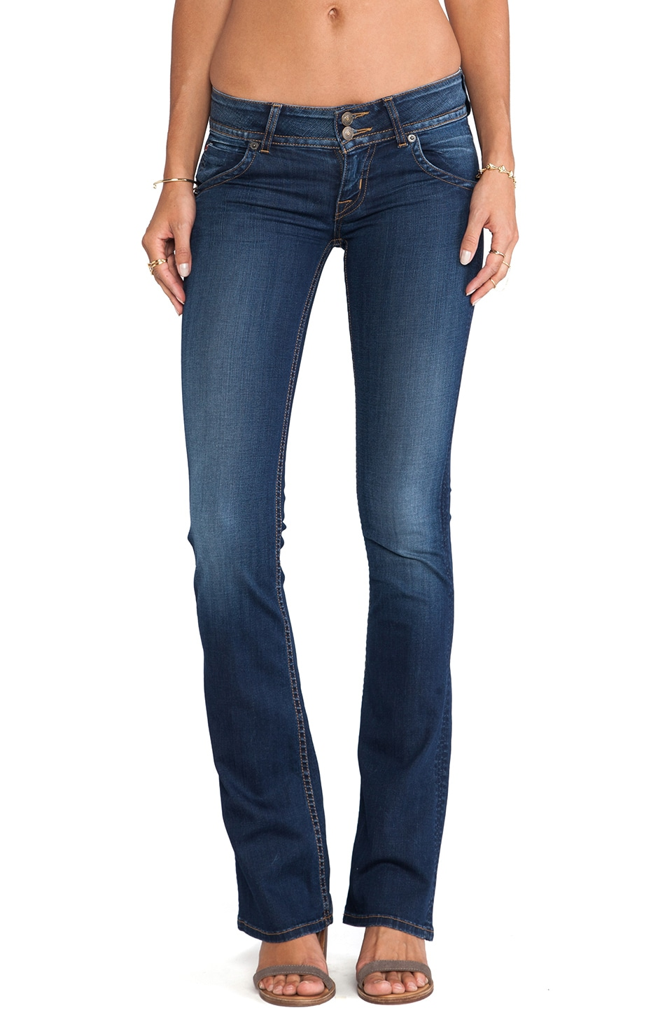 Hudson Jeans Signature Bootcut in Limelight