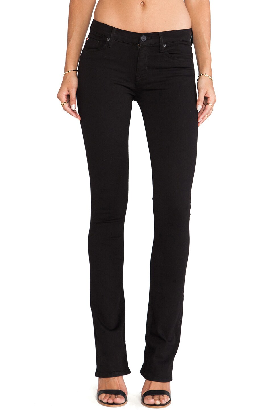 Hudson Jeans Love Midrise Bootcut in Black