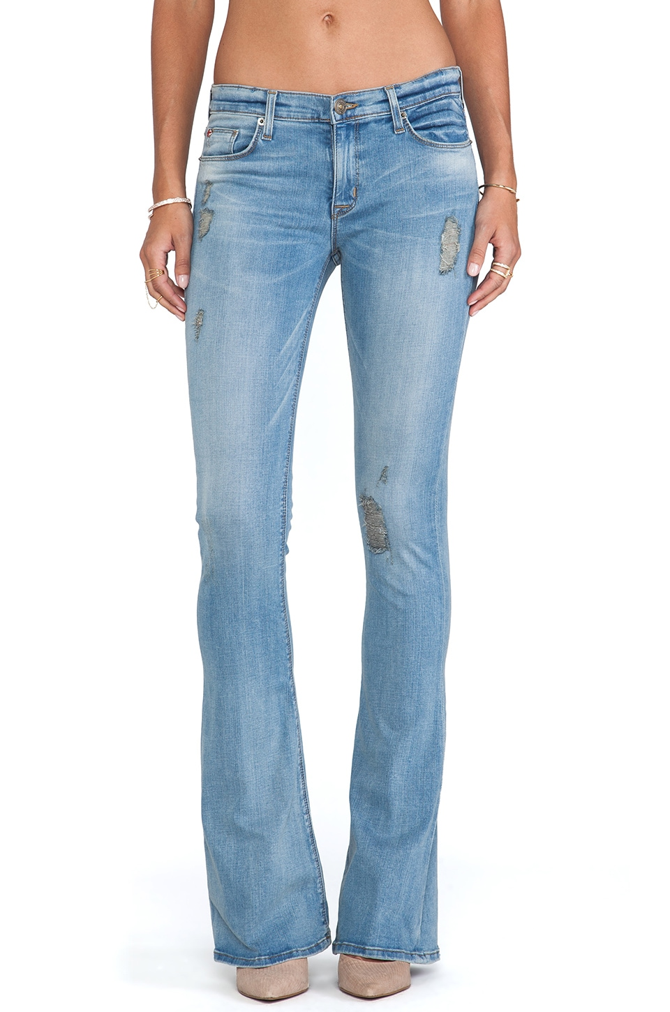 Hudson Jeans Angel Flare in Highlife