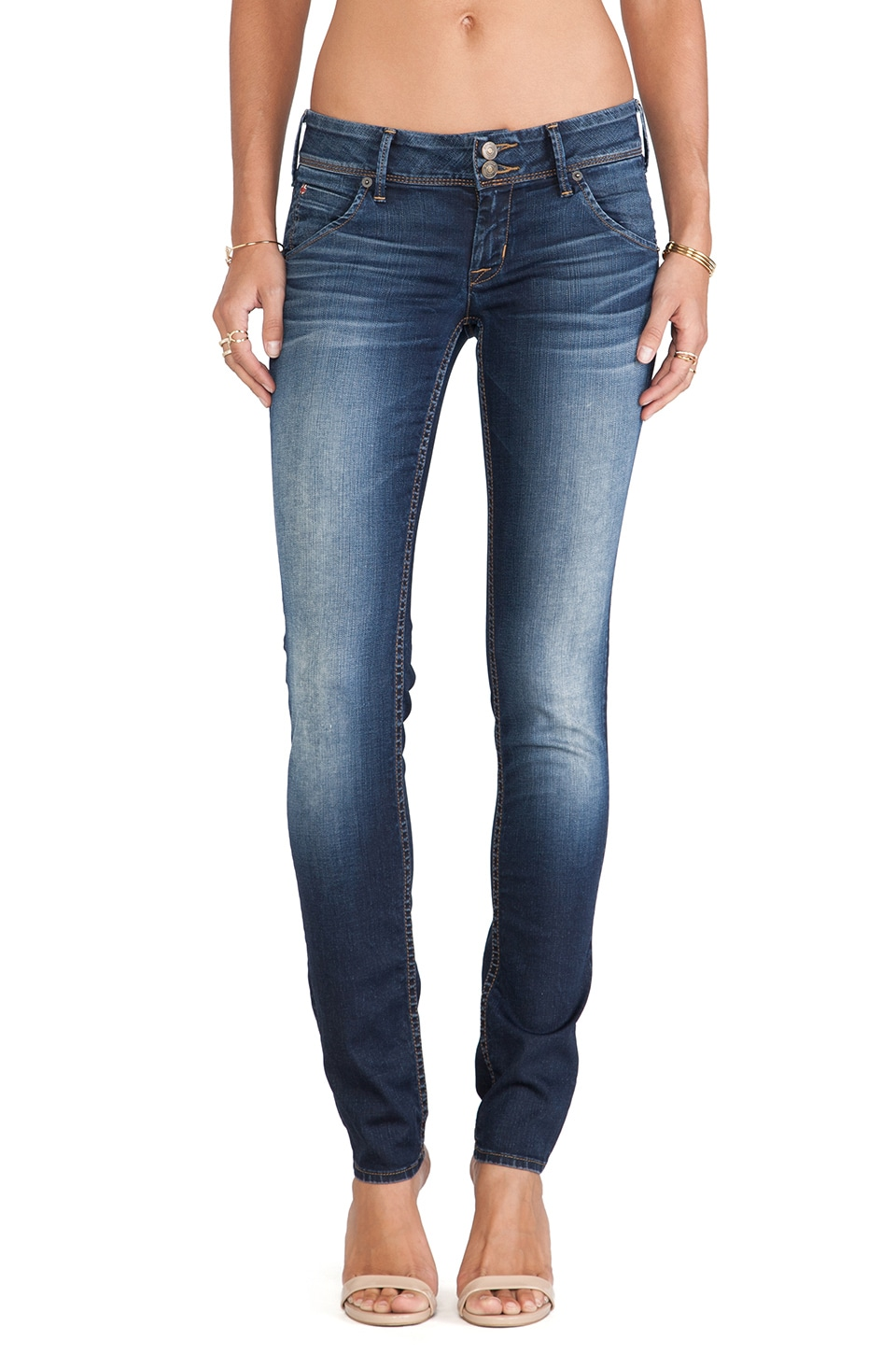 Hudson Jeans Collin Skinny in Narcissist