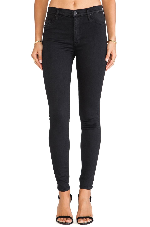Hudson Jeans Barbara High Waist Skinny in Rendezvous