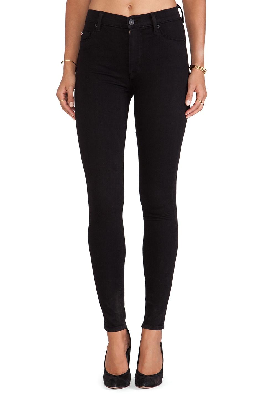 Hudson Jeans Barbara High Waisted Skinny in Black