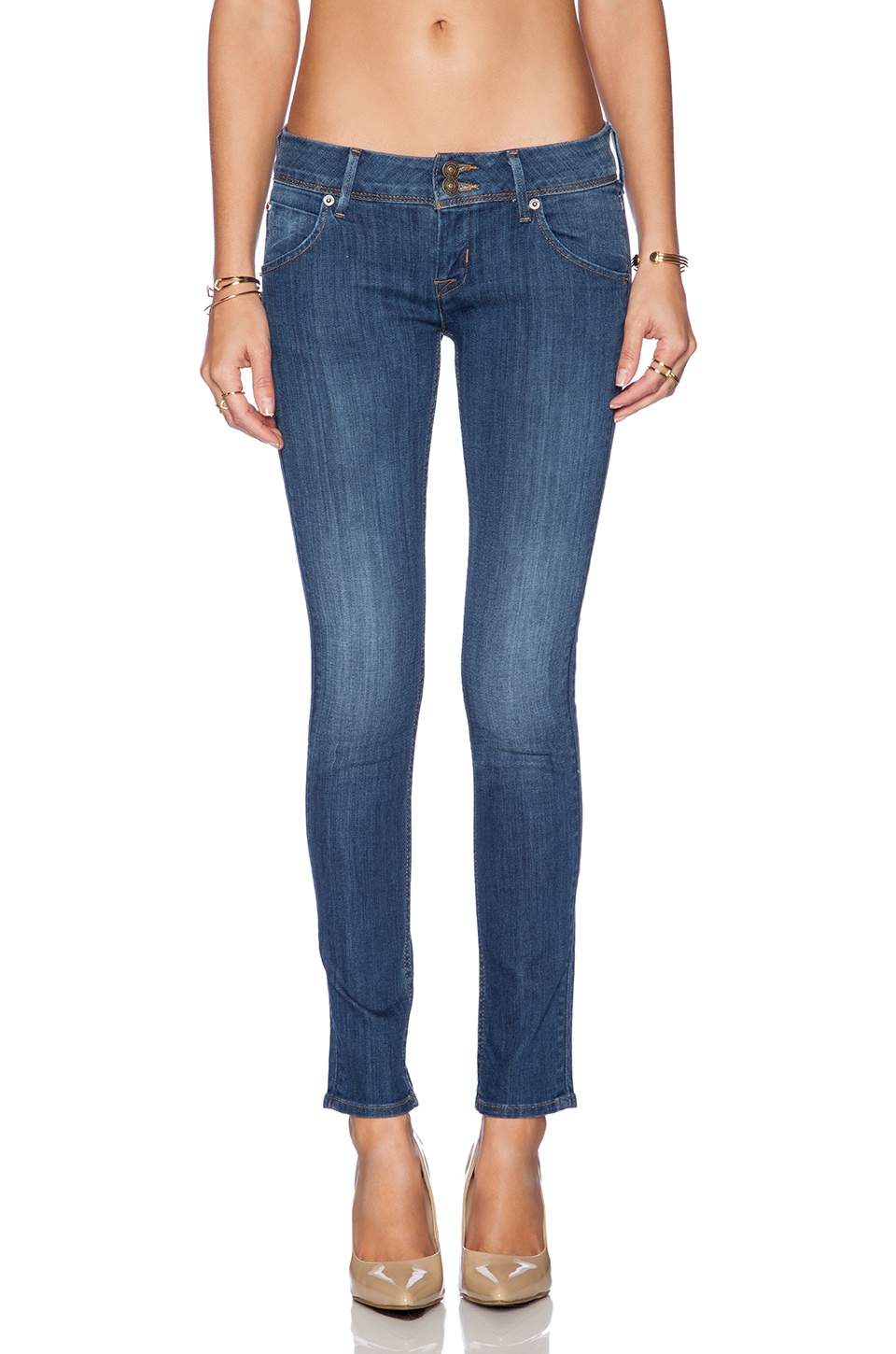 Hudson Jeans Collin Flap Skinny in Loveless